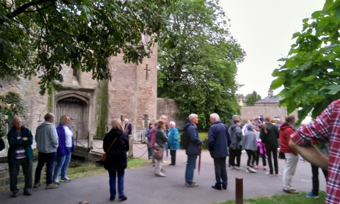Over 100 people attended Dave's Walk for SWT in Wells on 27th August 2019.