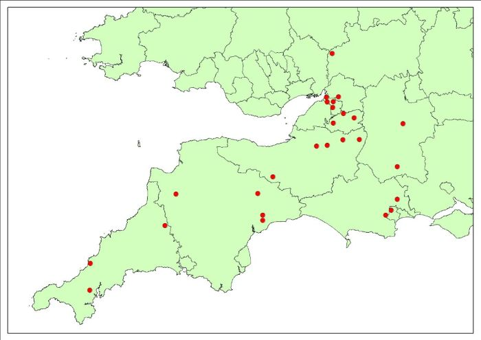 British Bat Survey - 2019 pilot sites