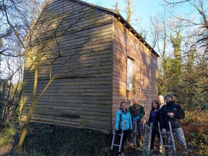 Wadbury Bat house